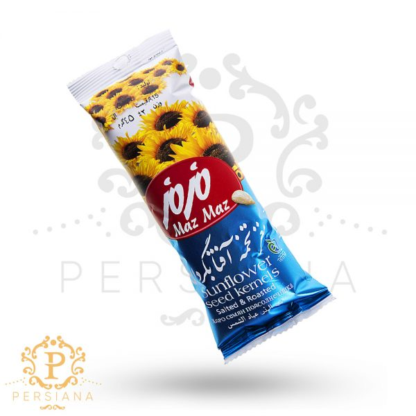 MazMaz sunflower seed kernels salted & roasted - تخمه آفتابگردان مزمز